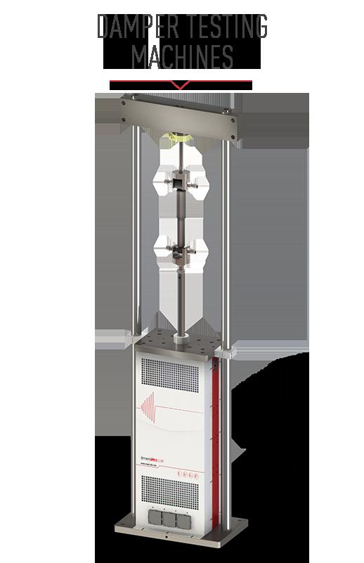 Damper testing machine