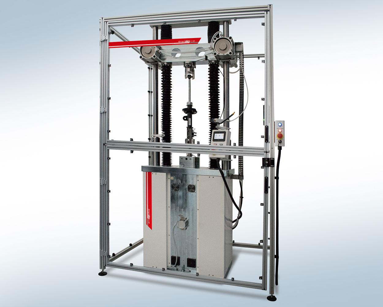 Damper test system for high dynamic applications